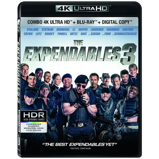 The Expendables 3 - 4K UHD Blu-ray