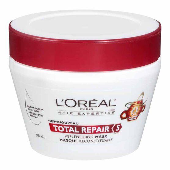 L'Oreal Total Repair 5 Replenishing Mask - 300ml