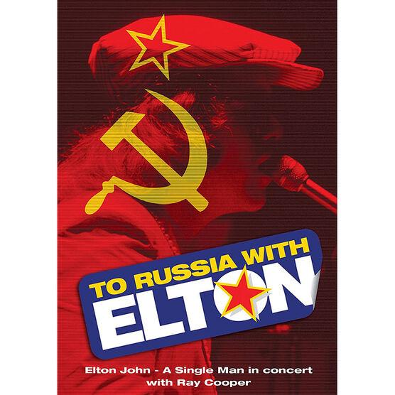 Elton John - To Russia With Elton - DVD