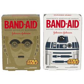 Johnson & Johnson Band-Aid - Star Wars Assorted - 20's