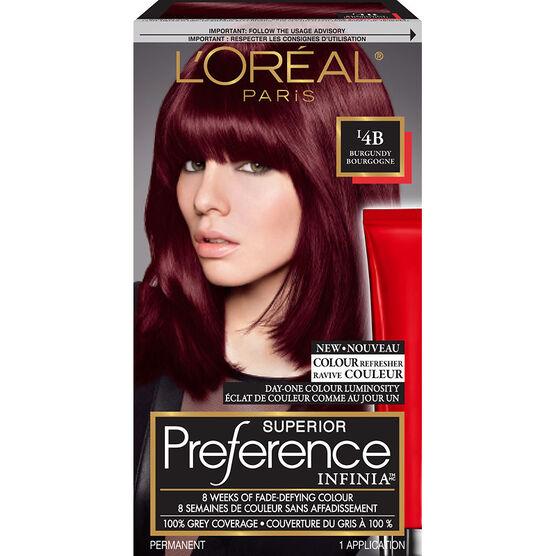 L Oreal Superior Preference Infinia Fade Defying Hair