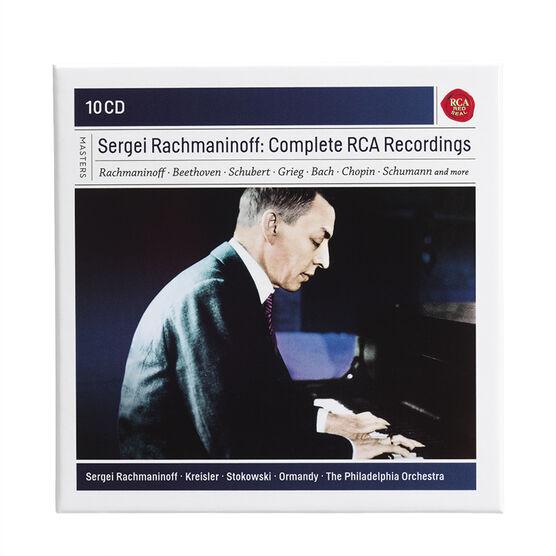 Sergei Rachmaninoff - Complete RCA Recordings - 10 CD