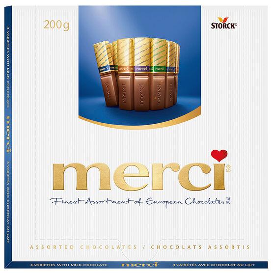 Merci Milk Chocolates - 200g