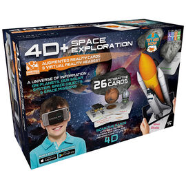 ReTrak 4D Augmented Reality Cards with VR Headset - Space - ETVRARSPAC