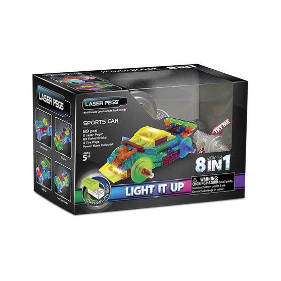 Laser Pegs Sports Car Kit