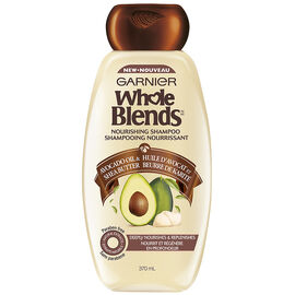 Garnier Whole Blends Nourishing Shampoo - Avocado Oil & Shea Butter- 370ml