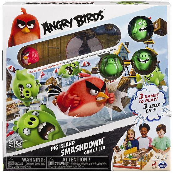 Angry Birds Pig Island Smash Game