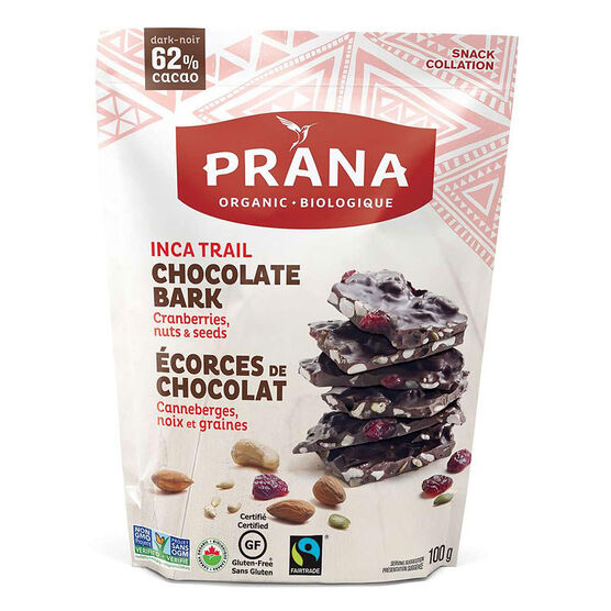 Prana Chocolate Bark - Inca Trail - 100g