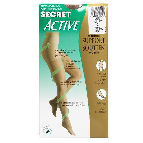 Secret Active Medium Support - C - Neutral