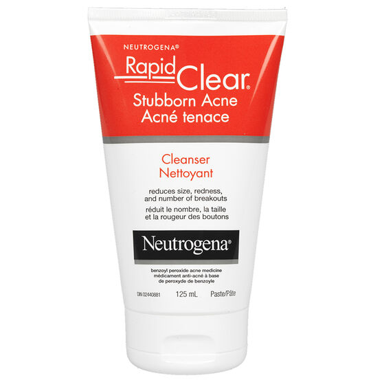 Neutrogena Rapid Clear Stubborn Acne Cleanser - 125ml