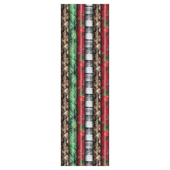 Plus Mark Photo Gift Wrap - 30 x 216in - Assorted