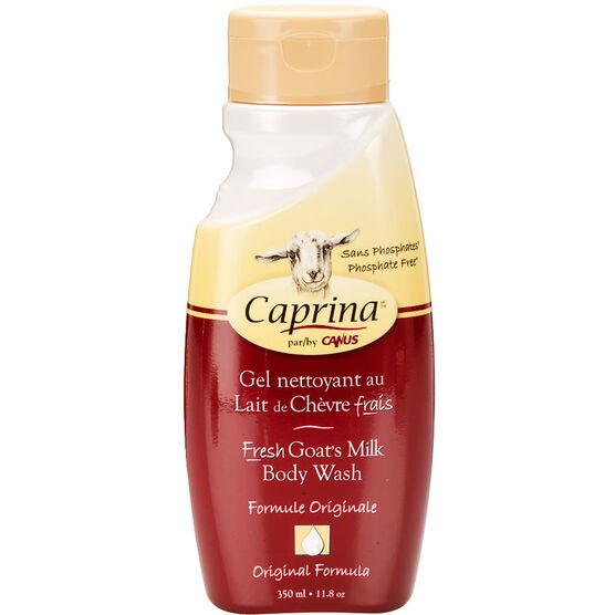 Caprina by Canus Fresh Goat's Milk Body Wash - Original - 350ml