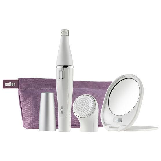 Braun Face Mini Epilator & Cleansing Brush - SE830