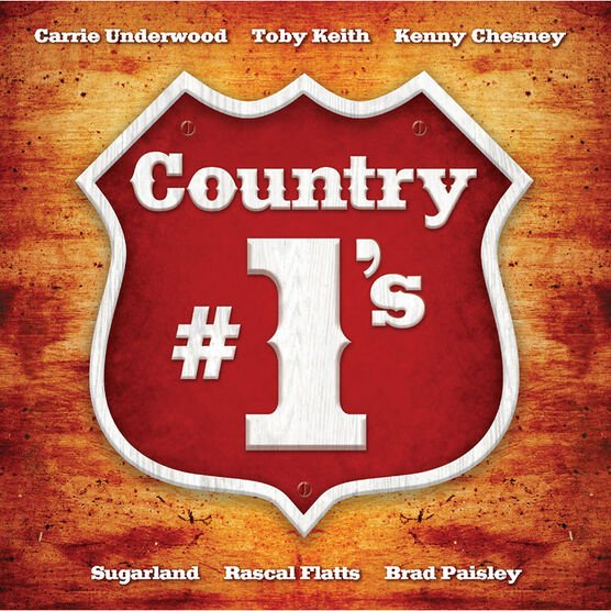 Various Artists - Country #1's - CD