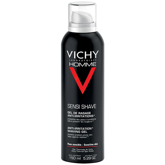 Vichy Homme Sensi Shave Anti-Irritation Shaving Gel - 150ml