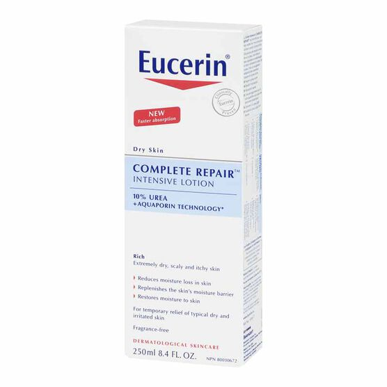 Eucerin Complete Repair Intensive Lotion for Dry Skin - 250ml