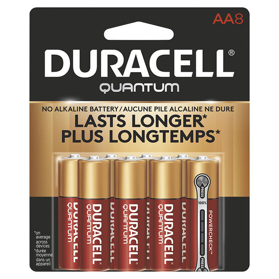 Duracell Quantum AA Batteries - 8 pack