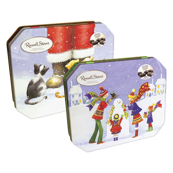 Russell Stover Let It Snow Tin - 284g