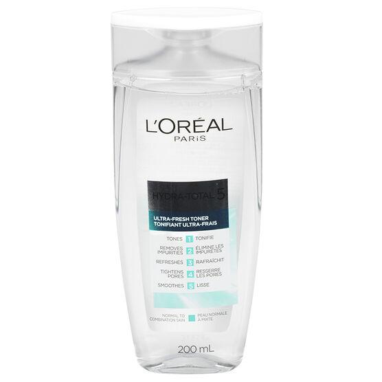 L'Oreal Hydra-Total 5 Ultra-Fresh Routine Toner - 200ml
