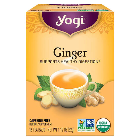 Yogi Tea - Ginger - 16's