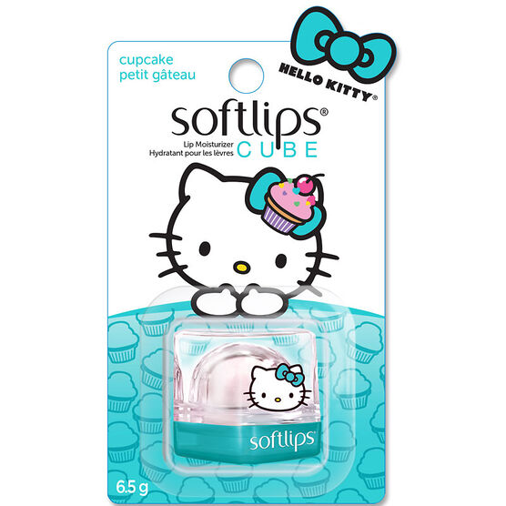 Softlips Hello Kitty Cube - Cupcake - 6.5g