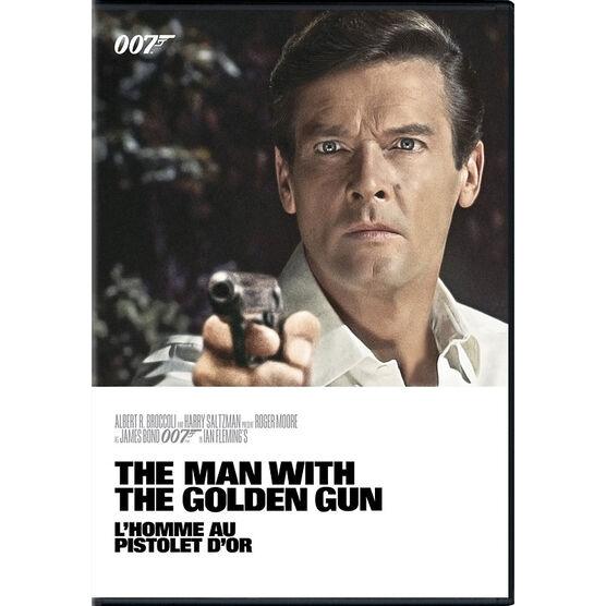 The Man With The Golden Gun (1974) - DVD
