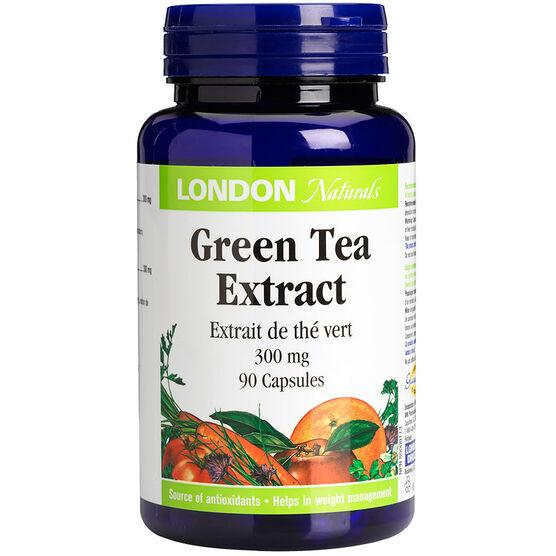 London Naturals Green Tea Extra Strength - 300mg - 90's