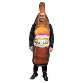 Halloween Beer Bottle Costume - Adult