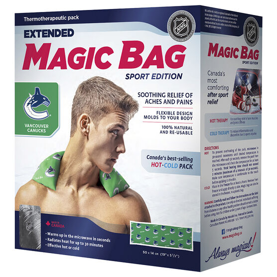 Magic Bag Sport Edition Hot/Cold Pad - Canucks Extended - 11503