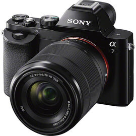 Sony a7 with 28-70mm Lens - Black - ILCE7KB