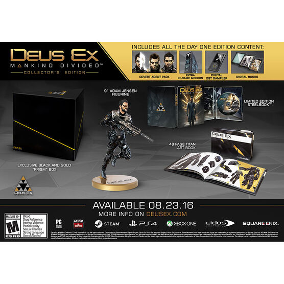 PS4 Deus Ex: Mankind Divided Collector's Edition