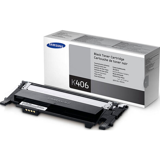 Samsung Toner Cartridge - Black - CLT-K406S/XAA