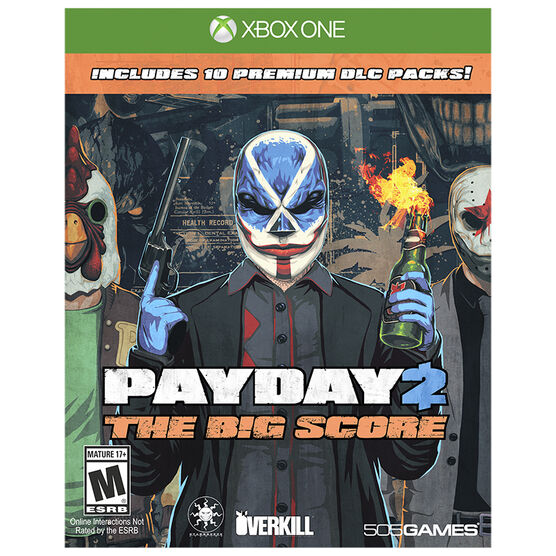 Xbox One Payday 2: The Big Score