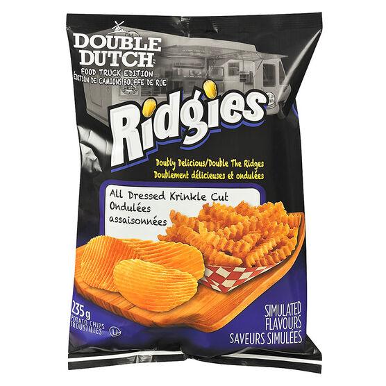 Double Dutch Ridgies Potato Chips - Original - 235g