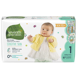 7th Generation Diapers - Stage 1 - 40's