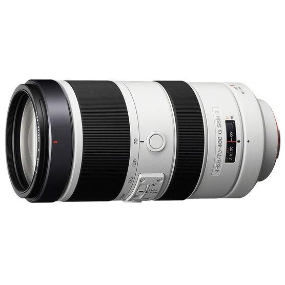 Sony A 70-400mm F4.5-5.6 Super Telephoto Lens - SAL70400G2