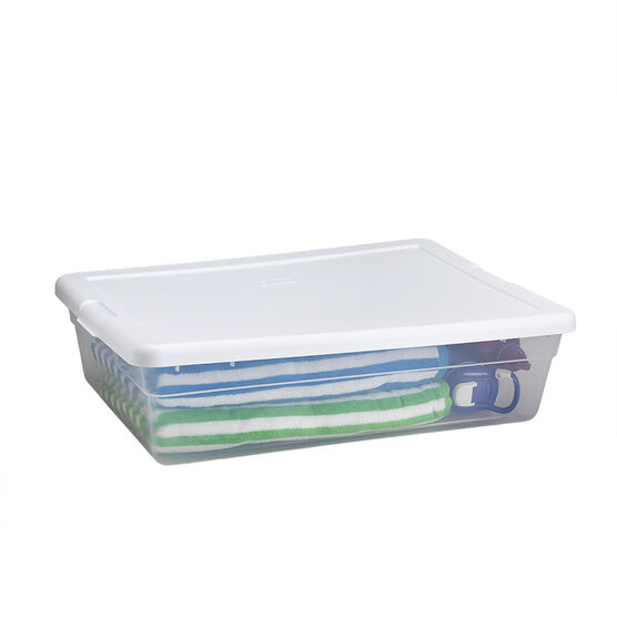 Sterilite Storage Box - Clear - 27L