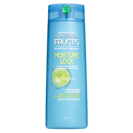 Garnier Fructis Moisture Lock Shampoo - Dry to Normal - 370ml