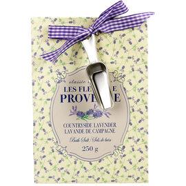 Les Fleurs de Provence Bath Salts - Countryside Lavender - 250g