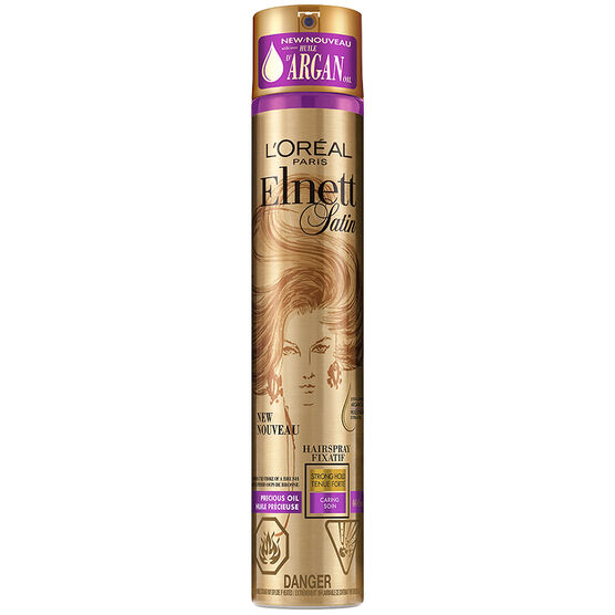 Elnett Satin Precious Oils Argan Hairspray - Strong Hold - 400ml