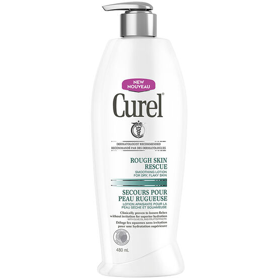 Curel Rough Skin Rescue Lotion - 480ml