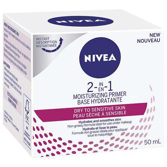 Nivea 2 In 1 Moisturizing Primer - Dry to Sensitive - 50ml