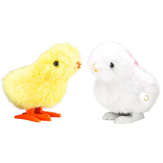 Easter Wind Up Chicken or Bunny - 3.5in - Assorted