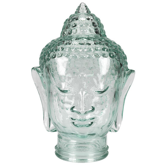 London Drugs Green Glass Buddha Head - 30ml