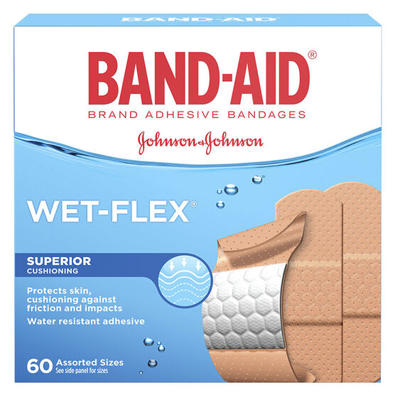 Band-Aid Wet-Flex - Assorted - 60's