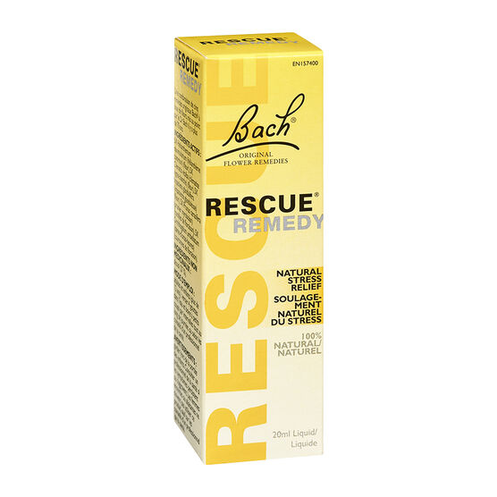 Bach Rescue Remedy Natural Stress Relief Liquid - 20ml