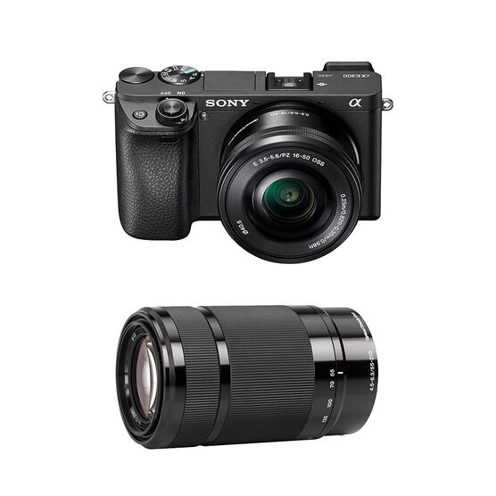 Sony a6300 with 16-50mm and 55-210mm Lens - PKG #25452