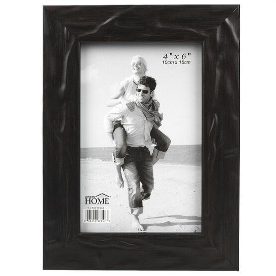 London Home Black Metallic Frame - 4x6