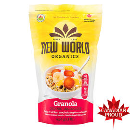 New World Tropical Fruit Nut Granola - 908g