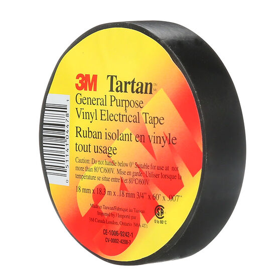 Scotch Electrical Tape - Tartan - 48mm x 18m